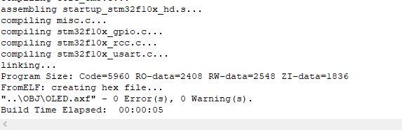 "keil5出现error:#67: expected a""}"" 错误解决方法5.jpg"